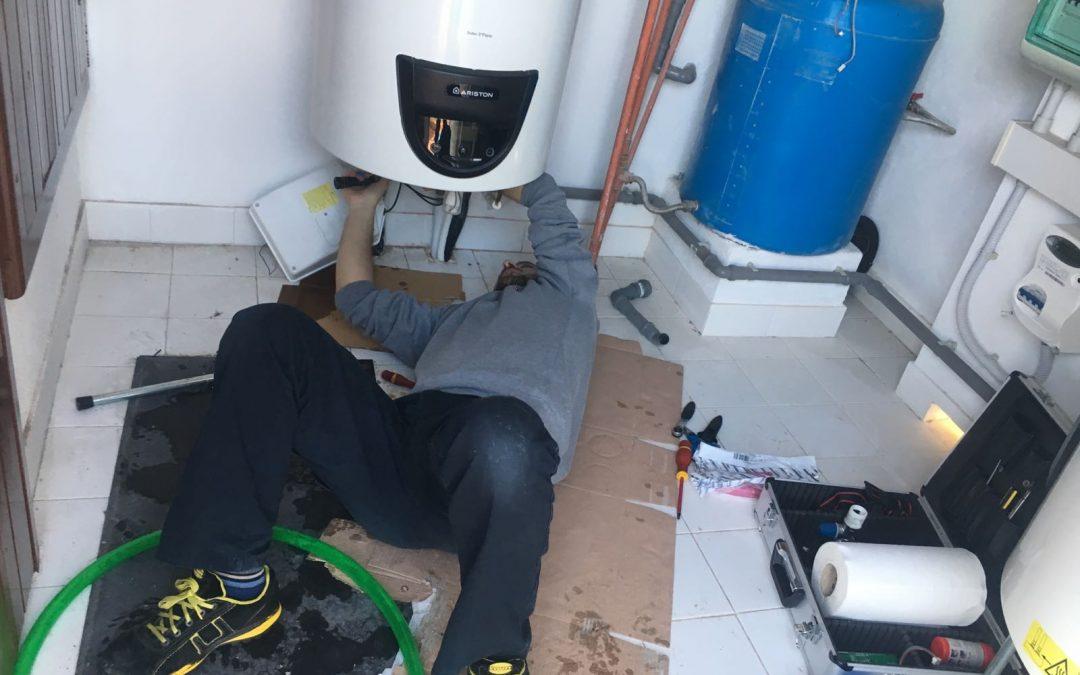 Intervento di riparazione Pompa di Calore Nuos